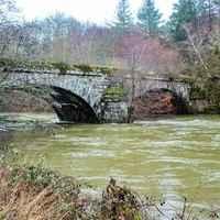 Sansac  La cere au vieux pont   Michel Baissac